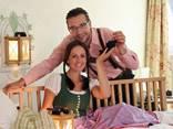 Paar in der Romantik Suite im Hotel Residenz Wachau