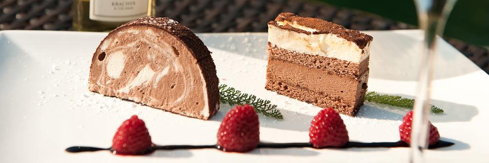 Dessert im Hotel Residenz Wachau