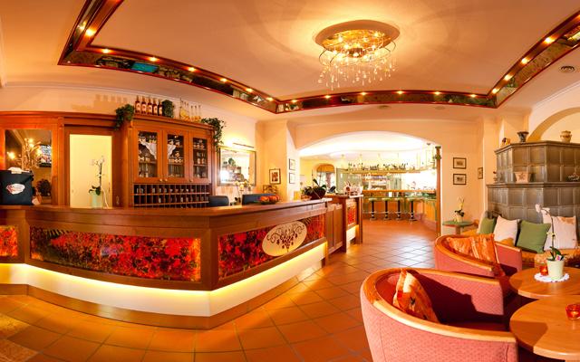 Hotelrezeption im Hotel Residenz Wachau