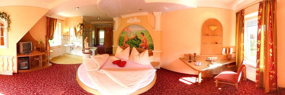 Romantikzimmer im Hotel Residenz Wachau