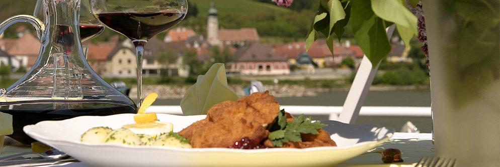 Restaurant an der Donau