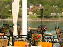 Terrasse des Hotel Residenz Wachau