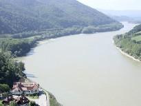 Residenz Wachau an der Donau aus der Luft
