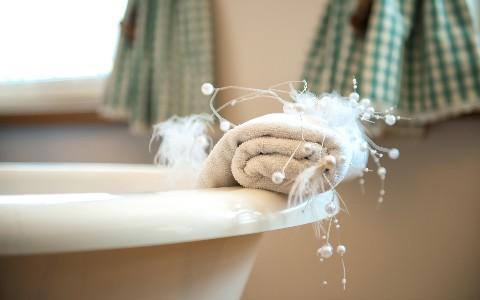 Badewanne im Hotel Residenz Wachau