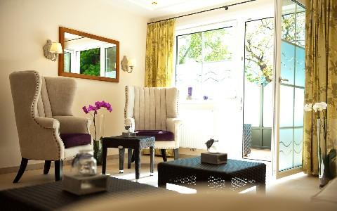 Geräumige Suite im Hotel Residenz Wachau
