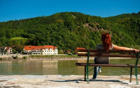 Erholsame Zeit an der Donau
