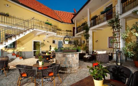 Innenhof im Hotel Residenz Wachau